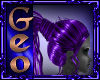 Geo Cuteness Purple