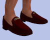 [B] Menz Red Loafers