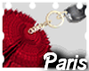 (LA) Kylie Car Keys Red