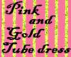SMD Pink/Gold Tube mini