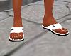 Adidas sandals white