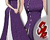 Elegant Cheongsam Purple