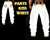 PANTS KISS WHITE