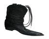 Boot w/Lasso Decor