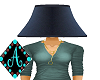 Ama{Lamp Shade blue