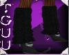 [TGUU] Black knit leggin