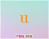 Fo. U Letter Orange