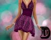 D Purple Spring Dress