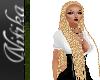 Tatiana Blond Braids