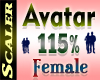 Avatar Resizer 115%