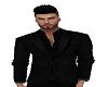 Casual Slim Suit Black