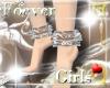 [K'z]Anklet~SilverLace~