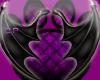 (dp) Succubus wings blk