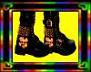 orange/black boots (F)