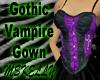 Gothic Vampire Gown 2