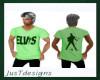 JT Elvis Tee Green