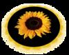 Sunflower Rug w/ Yellow