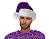 Purple Santa Hat (M)