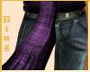 Purple Woven Sash