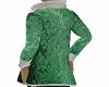 green Santa jacket
