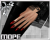 Red Witchca Nails