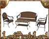 [LPL] Wicker Patio Set