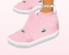 [R]baby pink laceless