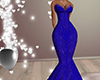 Dress blue gown rus