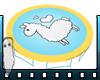 Kids Llama Trampoline