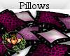 Pink & Black Pillows