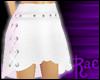 R: White Beca Skirt