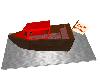 birthday cake boat