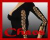 {C}Black Laced Pantsuit