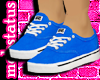 [MJ] Blue Vans Female