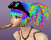 CRAZY RAINBOW HAIR