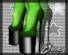 Black Glitter Witch Heel