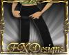 (FXD) Derivable T Pants