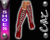 |CAZ| Xmas Boots Red