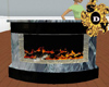 Animated Fire Place DEco