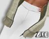 [zuv]leggings white RLS