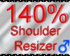 *M* Shoulder Resizer 140