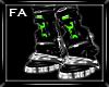 (FA)Cybernetic Boots Grn