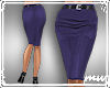 !Pencil Skirt Duskpurple