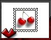 (V) Cherry Stamp