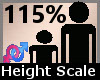 Scaler Height 115% F A