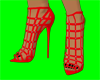 [AR] Red Gladiator Boots