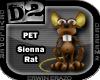 [D2] Sienna Rat