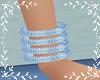 BRCELETS BLUE