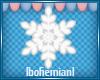Small White Snowflake