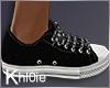 K black white kicks M